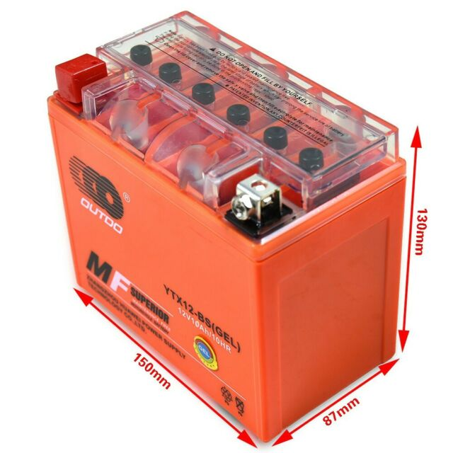 YTX12-BS Battery For Yamaha TT600 YZF600R YZF750R TDM850 TRX850 TDM900 (EU)