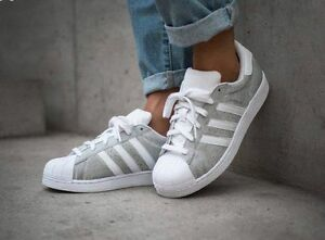 ... Adidas-Superstar-Silver-Sparkle-Glitter-Limited-Edition-Sizes-