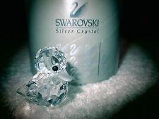 Swarovski Crystal MINI STANDING DUCK Figurine NIB Retired  MSR. $53.00