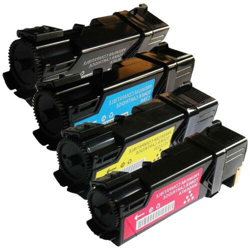 New Black Cyan Yellow Magenta Laser Toner Cartridge Set for Dell 1320c Printer
