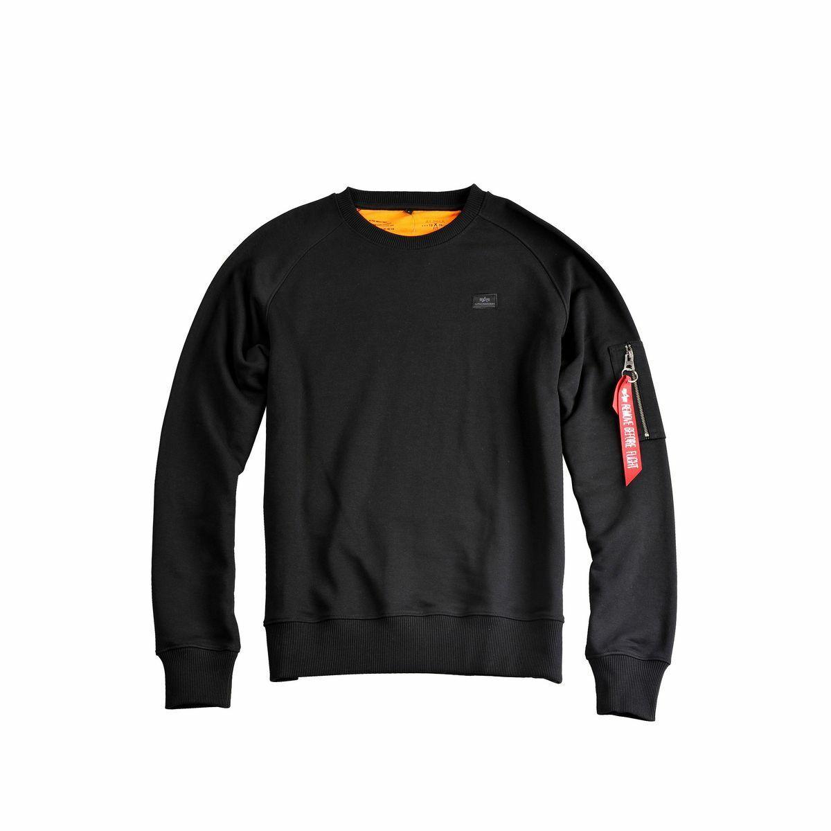 Alpha Industries X-Fit Sweat Hoodies / Sweatshirts Black