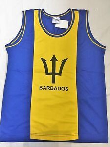 BARBADOS-FLAG-VEST-TOP-REGGAE-ROOTS-ONE-LOVE-BASKETBALL-TOP