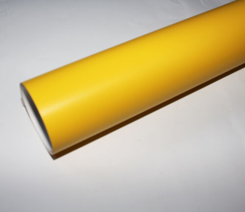 """12"""" x 30ft Paint Mask Sign Vinyl Film Yellow low tack airbrushing,spray painting"""