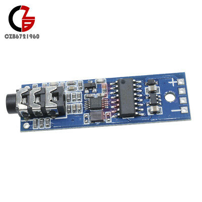 Stereo FM Transmitter Module Phase-locked Loop Digital Wireless radio Module MCU
