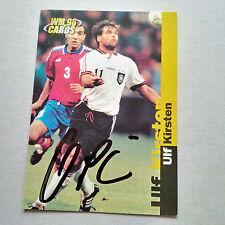 ULF KIRSTEN DFB signed Sammelbild WM 98 CARDS signiert Autogramm