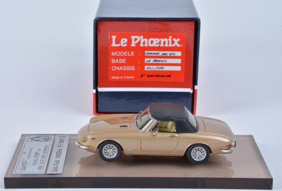 1 43 Le Phoenix 365 GTS 1969 - 2e Anniversaire Anniversaire Anniversaire (1995) gold    AMR BBR Bosica 7bdf4f