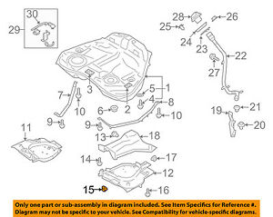 subaru oem 90 94 loyale 1 8l h4 fuel system protector lock nut rh ebay com VW 1.8L Turbo Engine Nissan 1.8L Engine