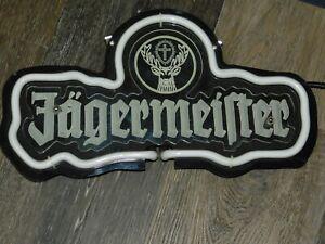 Jägermeister lighted sign