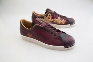 CP9714 Adidas Consortium x Limited Edt Vault Men Superstar burgundy dark burgund