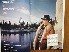 Feb.- 1960 TV Guide(HAVE GUN, WILL TRAVEL/PALADIN/RICHARD  BOONE/CONNIE  STEVENS