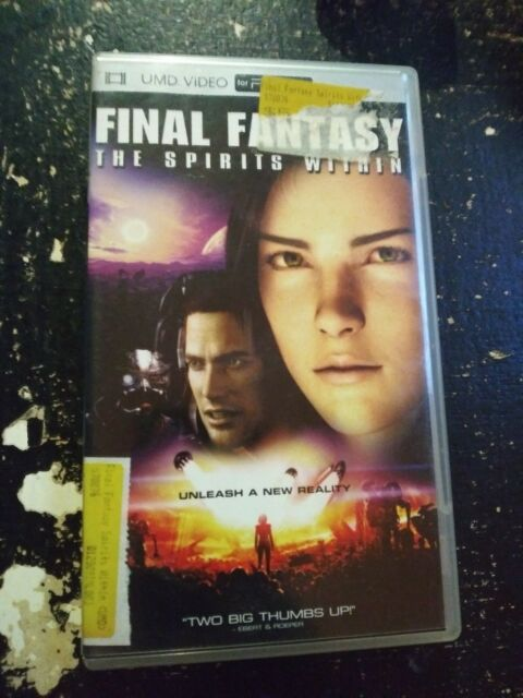 Sony Psp Umd Movie Video Final Fantasy The Spirits Within For Sale