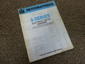 1979 International 1854 1924 1954 2125 Truck Electrical ...