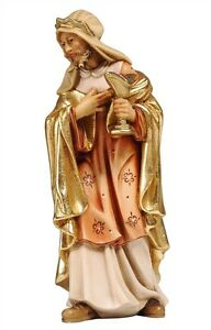 King-Melchior-statue-wood-carving-for-Nativity-set-mod-912