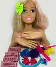 Barbie 628456 Color Style Deluxe Styling Head With Curly Hair For Sale Online Ebay