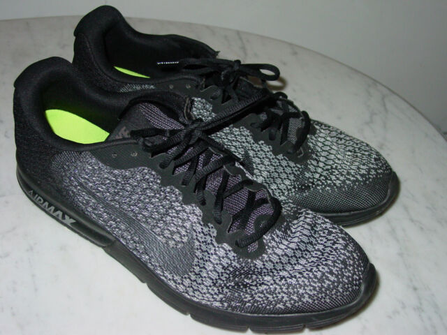 Size 15 - Nike Air Max Sequent 2 Black for sale online | eBay