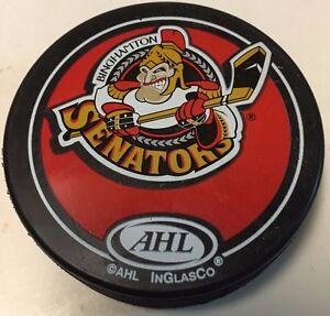 2000's Binghamton Senators Souvenir Hockey Puck AHL