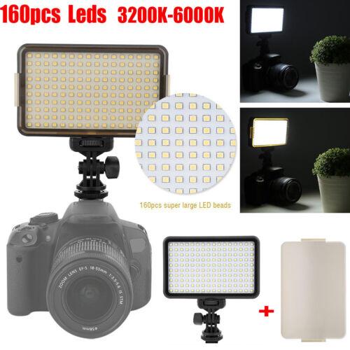 PAD160 3200-6000K 1350LM LED Videio Fill light Film light For DSLR Video Camera