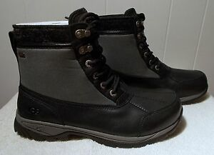 5387ae18071 Details about NEW UGG Boots EAGLIN Black Men's Size 10