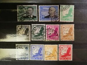German-Stamps-Germany-1934