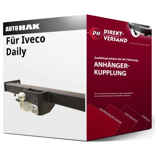 Für Iveco Daily Kasten//Bus Anhängerkupplung starr inkl Auto Hak EBA top neu