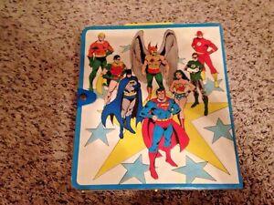 Vintage-Kenner-1984-SUPER-POWERS-Carrying-Carry-CASE-DC-Comics-Batman-Superman
