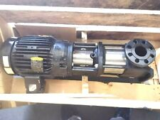 New Grundfos Cr15 3 75hp Inline Multi Stage Transfer Centrifugal Water Pump
