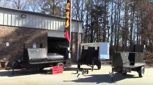 BBQ-Flag-Banner-Holder-Mobile-Kitchen-Smoker-Grill-Trailer-Food-Truck-Business