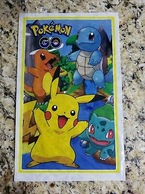 Pokemon Go Pikachu Loot Treat Bags **SET OF 25** Treat Goody Party Favors Bags