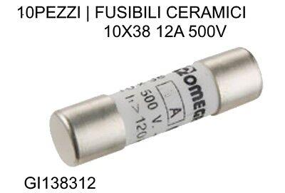 FUSIBILE CERAMICO RITARDATO DI TIPO T 4A 250V 5x20mm 2 Pezzi