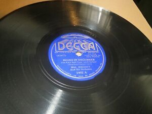 Details About 78rpm Decca 1402 Mal Hallett Roses December Yankee Doodle Band E To V To E