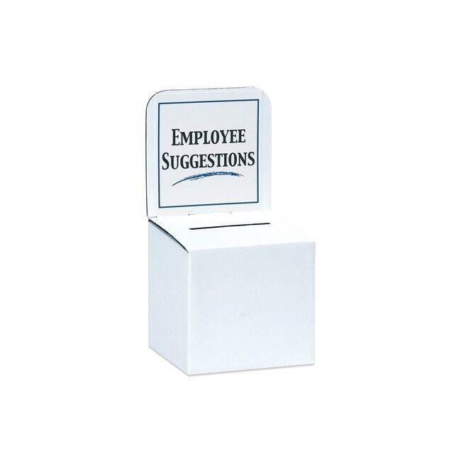 Thornton's Ballot Box, 10   x 10   x 9  , Wh