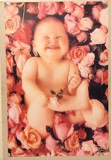 (PRL) 1993 BABY ANNE GEDDES VINTAGE AFFICHE POSTER ART PRINT COLLECTION NEWBORN