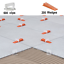Shmox Tile Leveling Spacer 1.5mm System High Quality same as Raimondi QTY 800