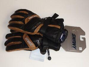 NEW! Swany SX-78M X-Clusive Men's Ski Snowboard Gloves Color Black/Segale Small