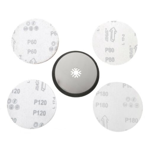 115mm Round Sanding Pad Oscillating Multitool And 20 pieces sanding sheets