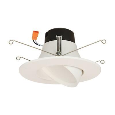 Halo La 5 6 In Led Recessed Ceiling Light Fixture Adjule Gimbal Trim 80083818020 Ebay