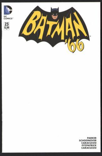 BATMAN /'66 #23 1st print BLANK VARIANT COVER new unread NM
