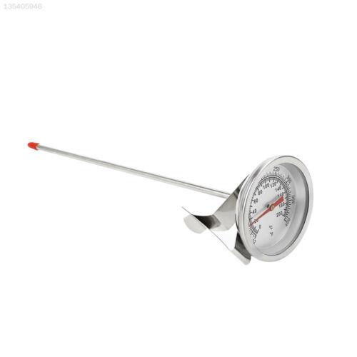 Kochen Einkochthermometer Silber BBQ Edelstahl Fleischthermometer Lange Probe
