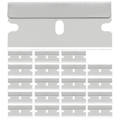 100 Stück Ersatzklingen Glasschaber Ceranfeldschaber Glasfeld Ersatz Klinge 40mm