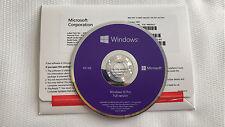 NEW Microsoft Windows 10 PRO 64-Bit Full English Version w/DVD + Product Key