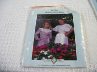 Chery Williams Teen Wedding Ring Blouse Sewing Pattern Sizes 5/6 Thru 13/14