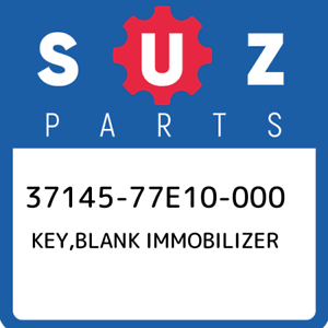 37145-77E10-000-Suzuki-Key-blank-immobilizer-3714577E10000-New-Genuine-OEM-Part