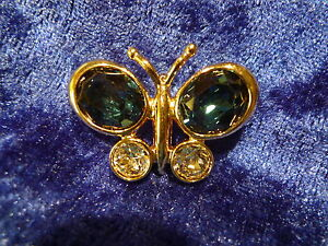 Beautiful Brooch Pierre Lang _ Butterfly With Glitter Stones