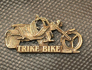 Bien éDuqué Trike Bike Pin Pins