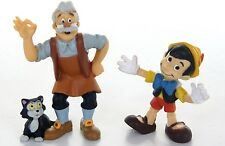 OFFICIAL DISNEY BULLYLAND CHARACTERS PINOCCHIO & GEPPETTO SET DISNEY FIGURE