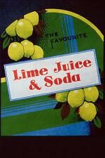 755043 Lime Juice And Soda A4 Photo Print