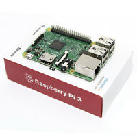 Raspberry Pi 3 Model B 1.2ghz 64-bit Quad-core Armv8 Cpu Bluetooth 4.0 Usb Hdmi