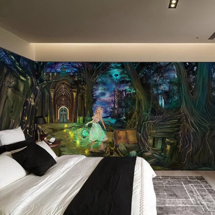 3D Forest  Beautys 785 Wall Paper Murals Wall Print Wall Wallpaper Mural AU Kyra