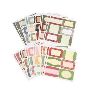 Details Zu Selbstklebende Etiketten Zum Beschriften Großpack 144 Stück Sticker Aufkleber
