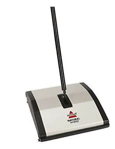 BISSELL-Natural-Sweep-Carpet-amp-Floor-Manual-Sweeper-Dual-Rotating-System-92N0A